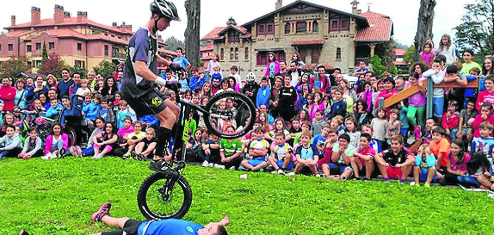 Jornada multitudinaria sobre ruedas