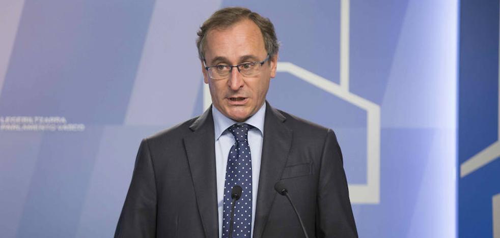 El PP vasco reclama a Urkullu que abandone el «buenismo» con Cataluña y «se ponga del lado de la ley»