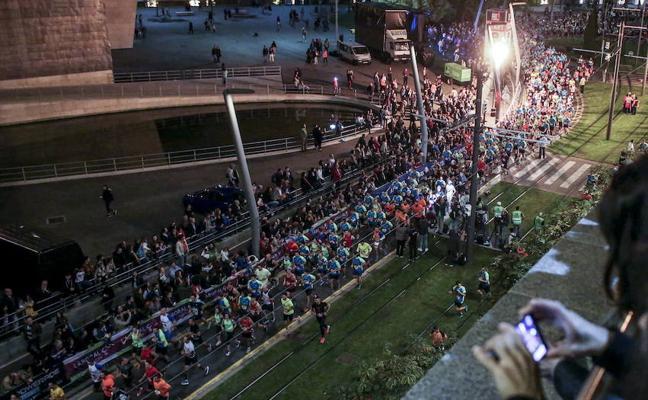 10.000 deportistas cerrarán las calles de Bilbao