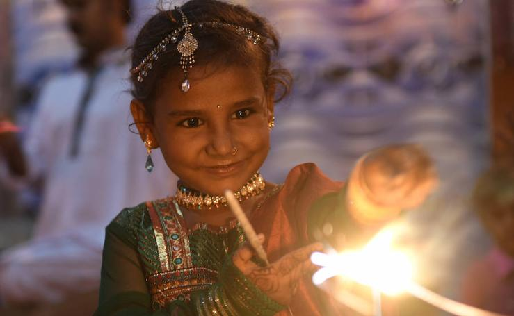Y la luz llegó a la India