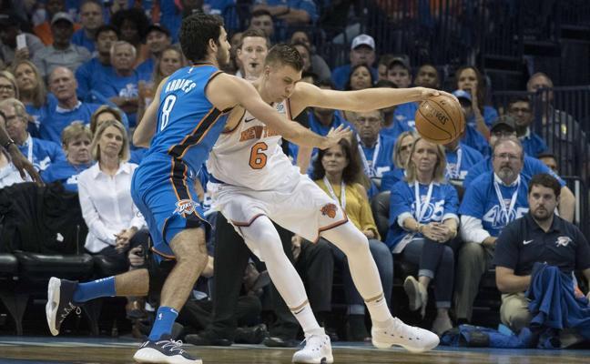 Debut triunfal de los nuevos 'Big Three' de los Thunder ante los Knicks