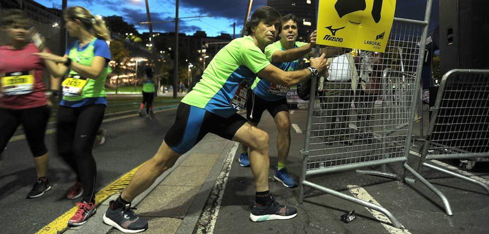 Diez consejos para cuidar los pies en la 'Bilbao Night Marathon'