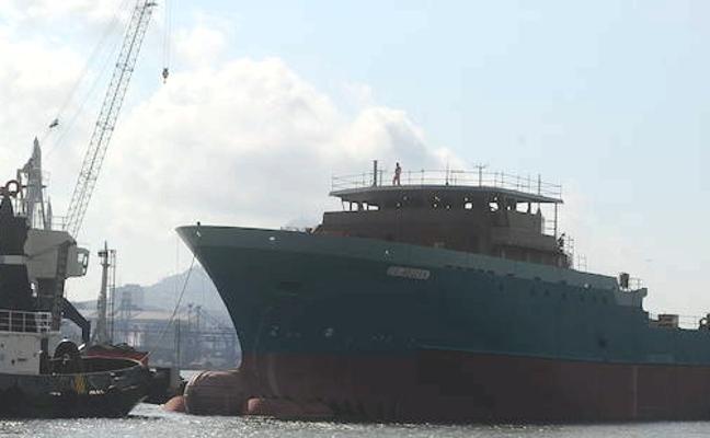 Murueta recibe el premio al mejor barco construido por el atunero 'Gevred'