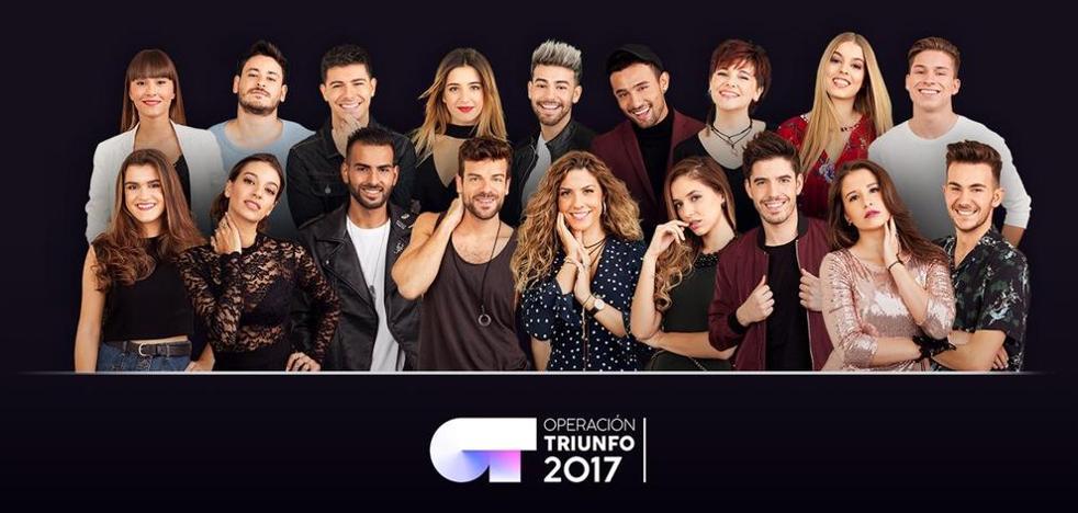 'Operación Triunfo 2017': conoce a los concursantes vascos