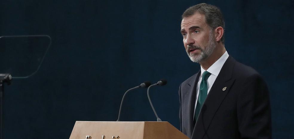 El Rey, ante el desafío independentista: «Cataluña es y será una parte esencial de España»