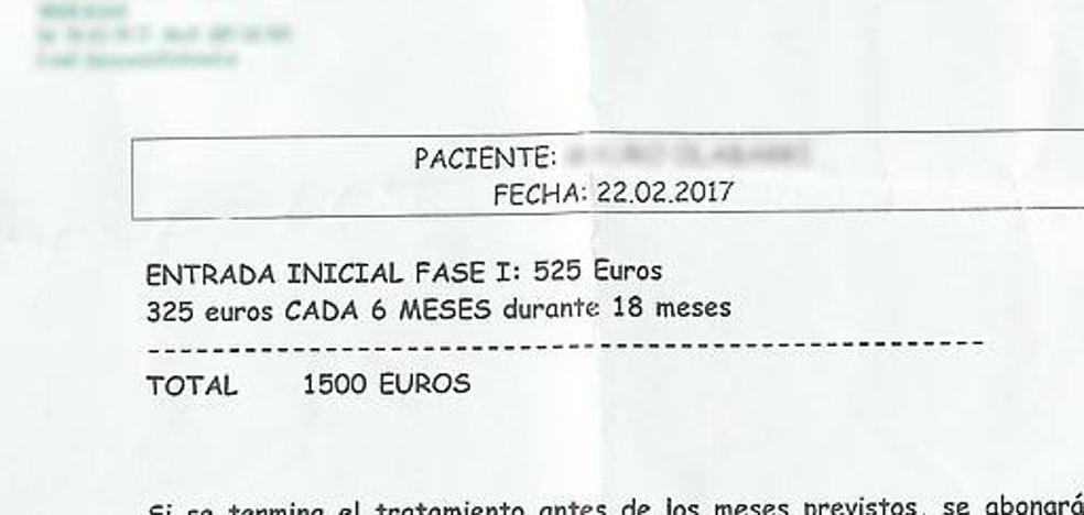 Seis euros por una factura falsa