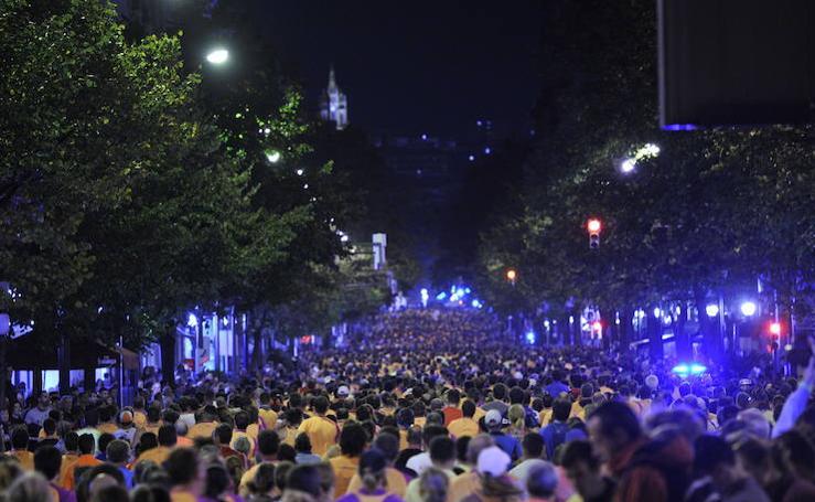 Bilbao corre de noche