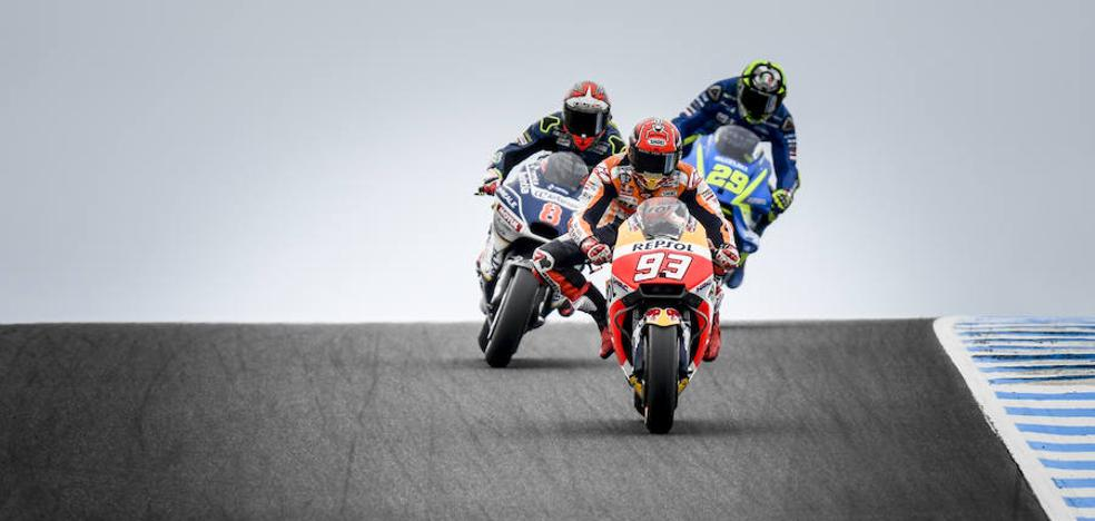Marc Márquez: «Sólo estoy centrado en terminar por delante de Dovizioso»