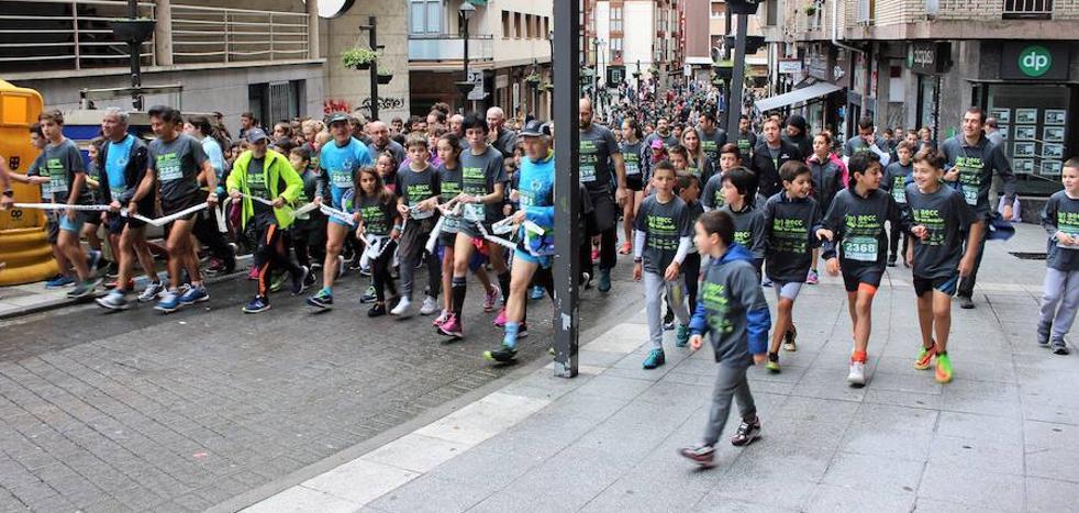 3.500 participantes en la marcha contra el cáncer