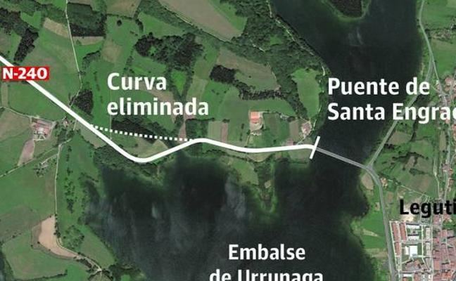 La Diputación invertirá casi 9 millones de euros en reformar la N-240 en Legutiano