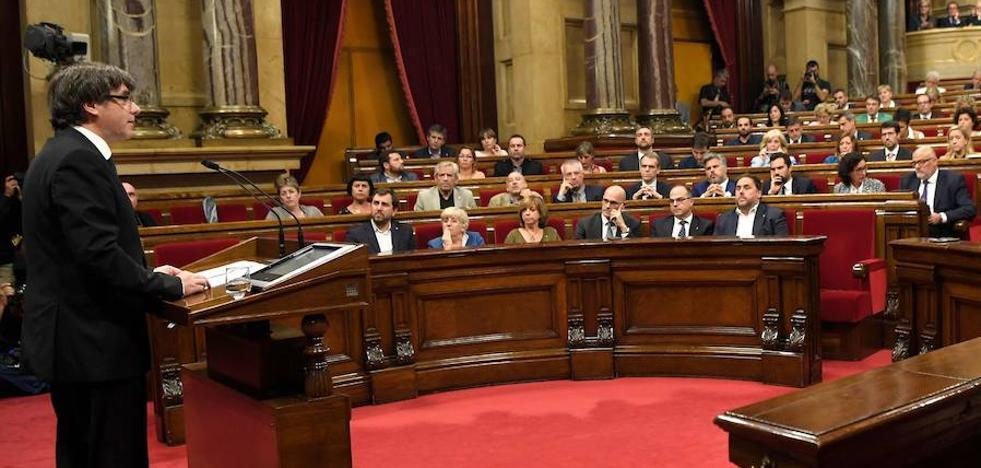 El Parlament convocará un pleno monográfico el jueves para responder al 155
