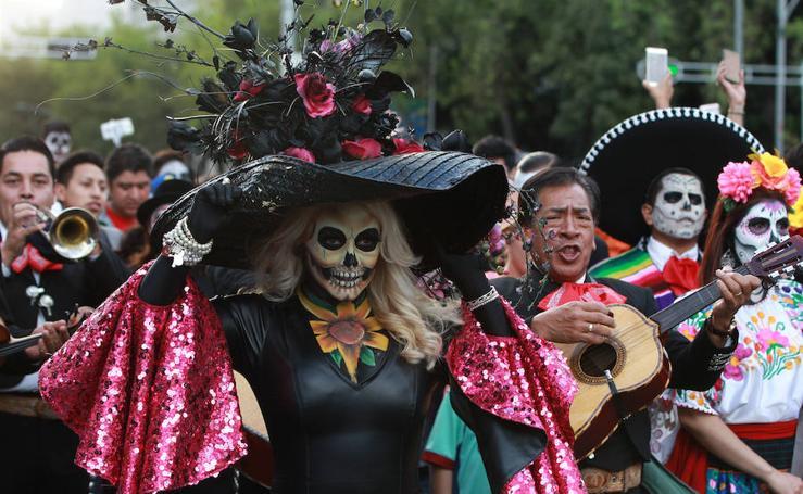 Ciudad de México honra a la calavera Catrina