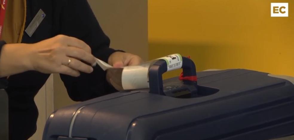 ¿Qué le pasa a tu maleta cuando la facturas en el aeropuerto de Loiu?