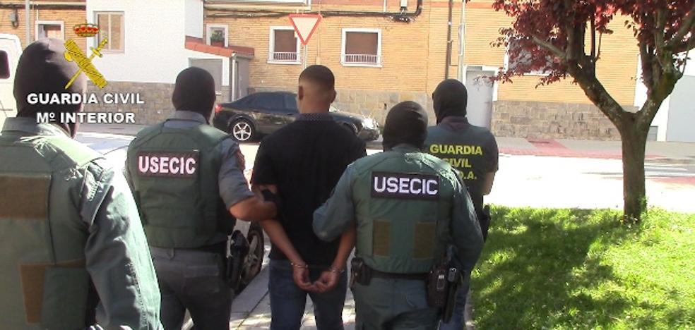Un detenido en Álava en la desarticulación de una red internacional de tráfico de drogas