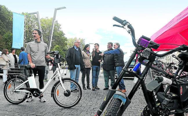 Bilbao prestará 450 bicicletas eléctricas con geolocalizador
