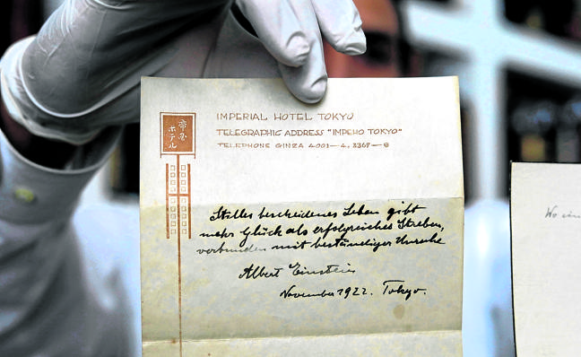 Einstein daba las mejores propinas