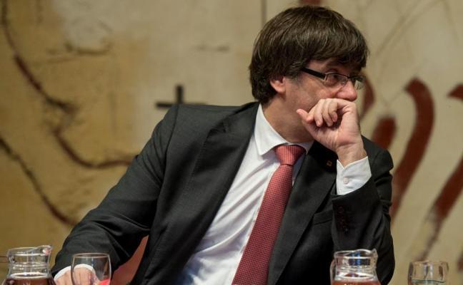 Puigdemont renuncia a comparecer en el Senado