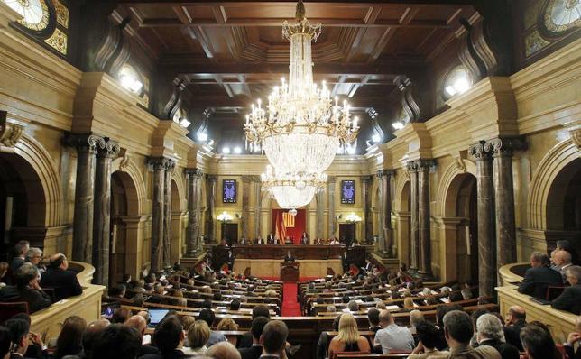 Así ha cambiado el Parlamento catalán en las últimas elecciones