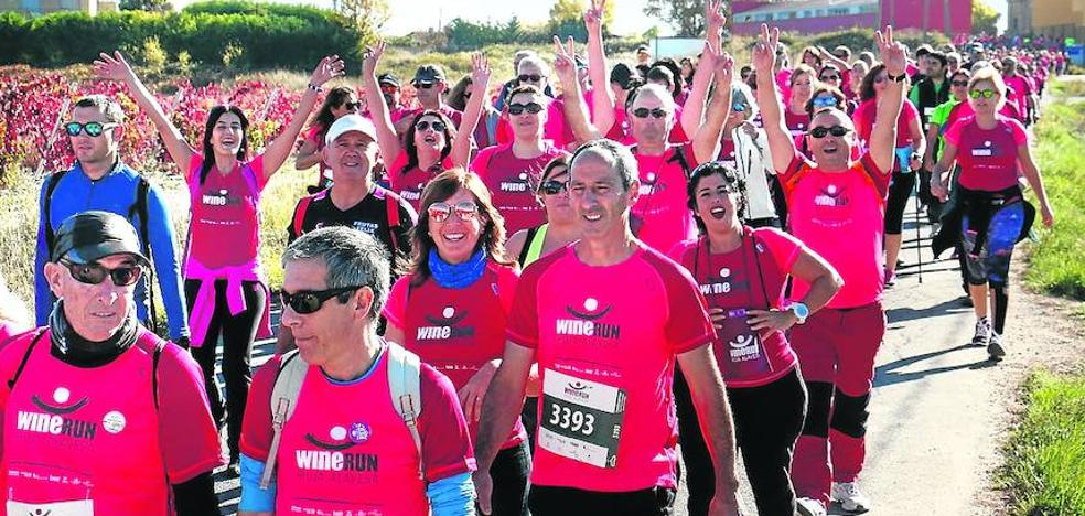 Laguardia ha acogido este domingo la Wine Run