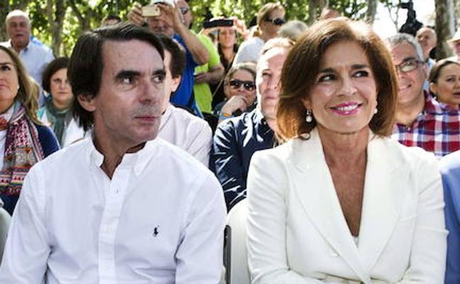 Los Aznar celebran sus 40 años de matrimonio