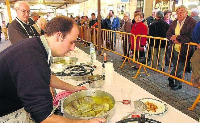 El bacalao será aún más protagonista en vísperas de fiestas de San Andrés