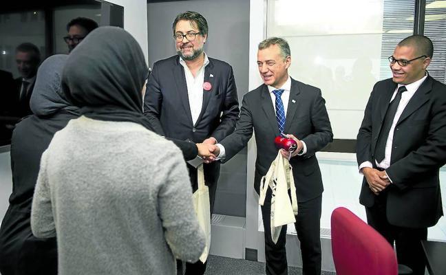 Urkullu reclama en Quebec una ley europea «de claridad» para «naciones sin Estado»