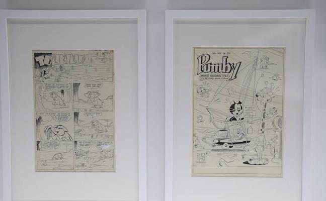 Cien años de historietas