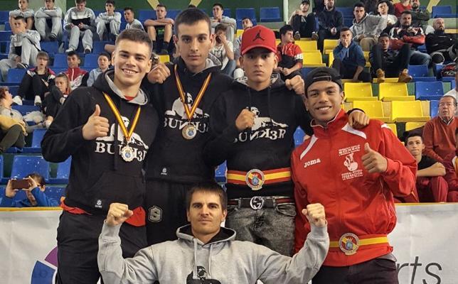 Bunk3r se lleva tres medallas del Campeonato de España