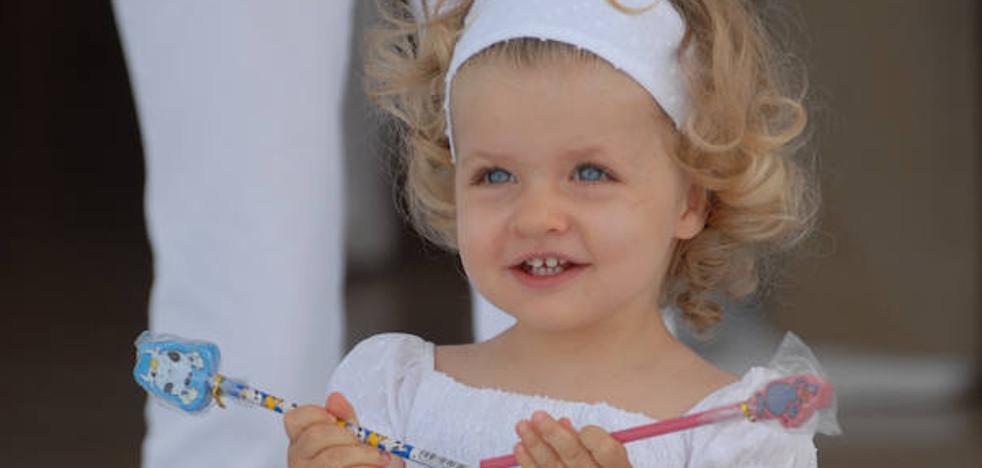 Las fotos más tiernas de la Princesa Leonor