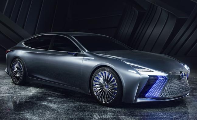 Lexus LS+ Concept, cerca de la conducción autónoma