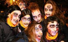 Abetxuko, invadido por los 'walking dead' en la noche de Halloween