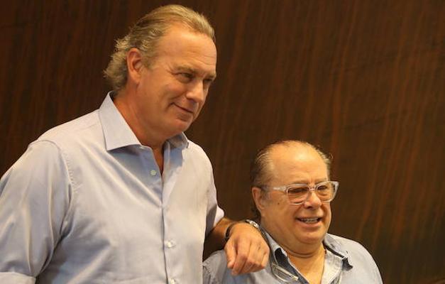 Bertín Osborne y Arévalo vuelven a ser amigos