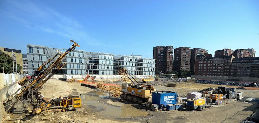 Comienza la excavación de Termibús: un camión cada dos minutos por Garellano