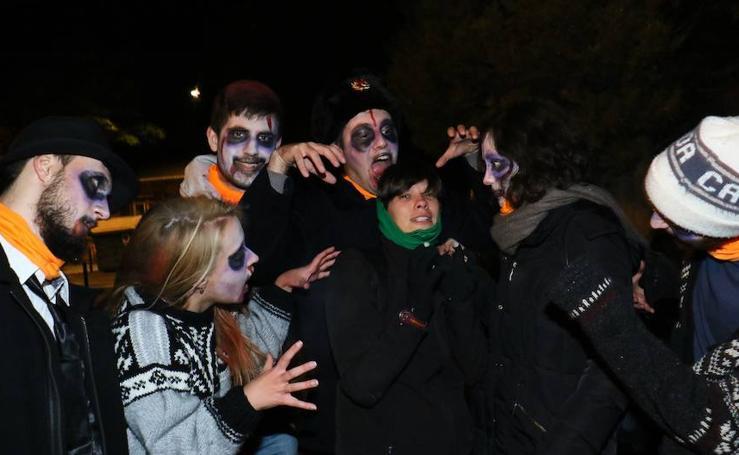 Invasión zombi en Abetxuko