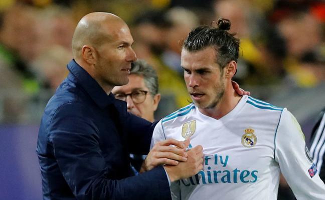 Gareth Bale vuelve a entrenarse con el Real Madrid