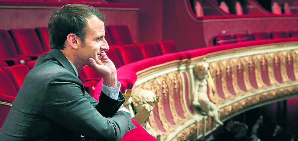 Macron, el poeta del Elíseo