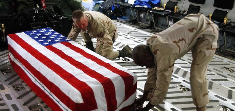 Cuando los comandos americanos se matan entre ellos