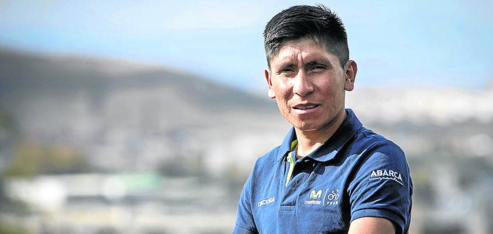 Nairo Quintana: «Quiero que Landa venga conmigo al Tour»