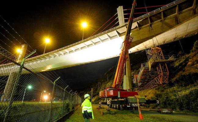 El final de las obras en el puente de La Arena se retrasa tres meses