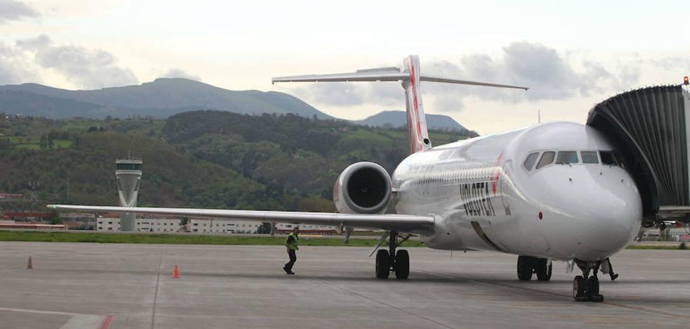 Volotea abrirá en marzo base en Bilbao y volará a Málaga, Viena, Palermo y Malta