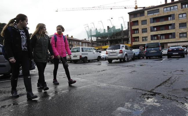 Markina abrirá un nuevo pulmón verde en el casco urbano con itinerarios peatonales