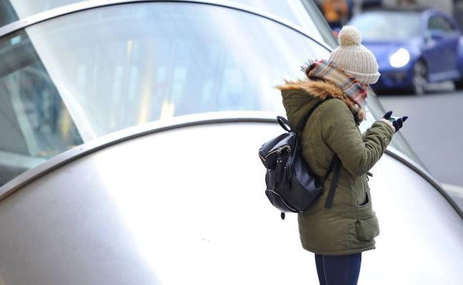 Ambiente invernal este miércoles en Euskadi