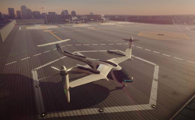 Uber y la NASA se unen para regular el tráfico aéreo