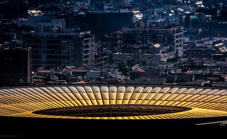 Bilbao, a vista de teleobjetivo