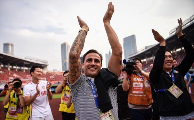 Cannavaro da el salto al Guangzhou Evergrande