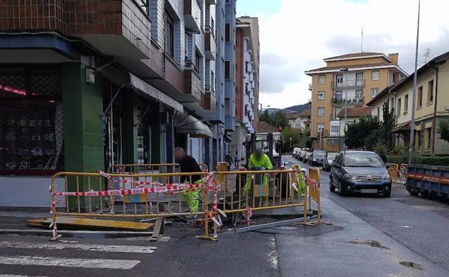 Arrigorriaga reforma cuatro calles