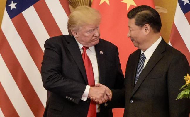 Trump insta a China a actuar en la crisis con Corea del Norte