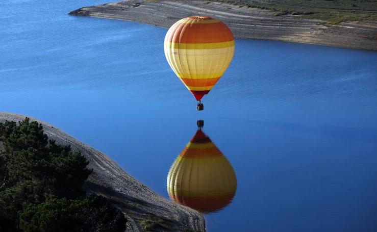 Los globos aerostáticos invaden el cielo en Portugal