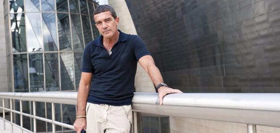 Antonio Banderas felicita a Bilbao por su premio como mejor ciudad europea 2018