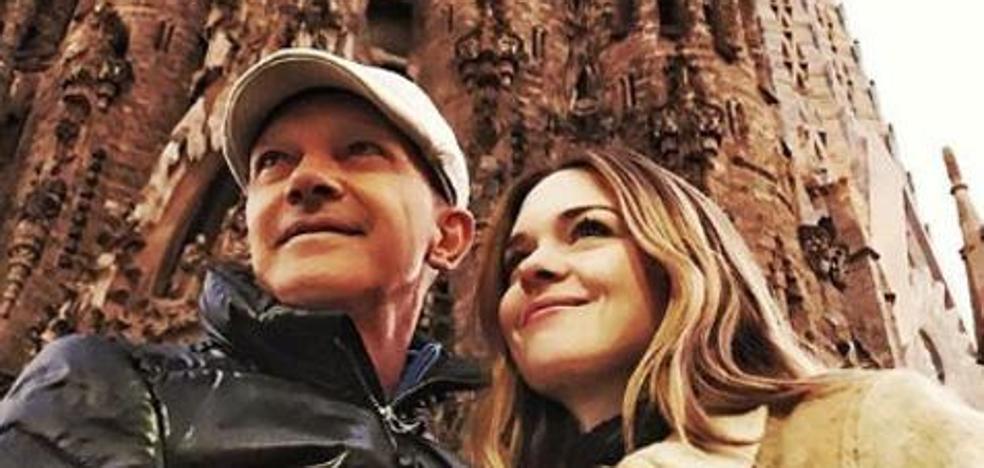 Antonio Banderas se recupera junto a Stella de la muerte de su madre